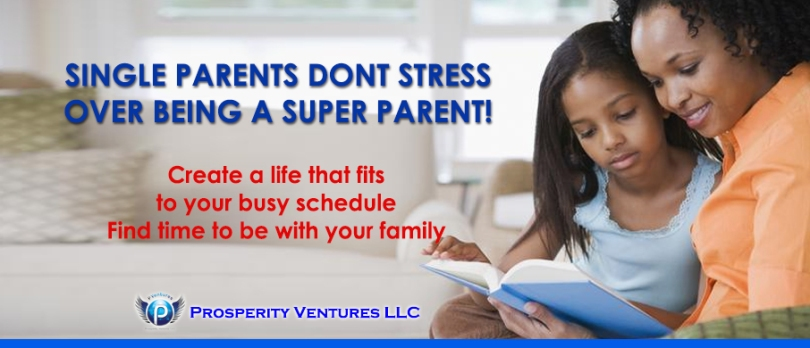 Single Parents Do not Stress here is a Solution!